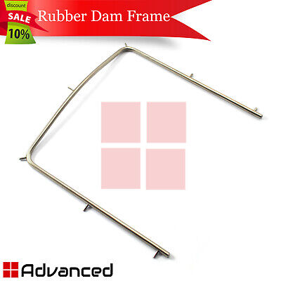 Rubber Dam Frame Kofferdam Holder Dam Positioning Surgical Endodontic Clamps 4x4