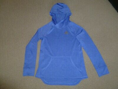 Girls Adidas Climalite Sports Hoodie Size Medium Age 10-12 Years