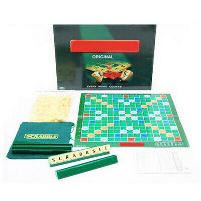 Scrabble Board Game Family Kids & Adults Educational Toys Puzzle Games 2-4Player