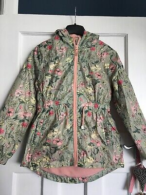 George Asda Girls Light Weight Jacket/coat Age 11-12 Years X