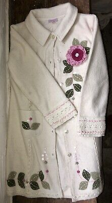 Monsoon Girls Stunning Coat, age 4-6 years, Very smart and gorgeously pretty