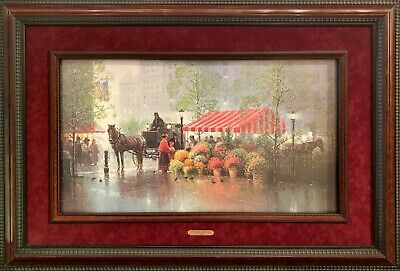 """G. Harvey Signed Limited Edition Print """"A Touch of Spring"""" 1049/3550 Framed"""