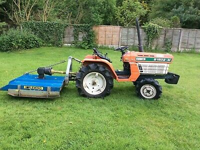 Kubota Tractor B1502-M, includes TOP3 Semi Offset Topper recently serviced