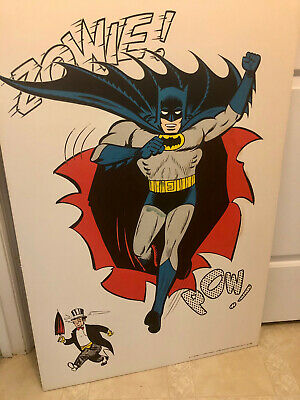 Batman 1966 Vintage 27 x 40 Wall Poster Made by G&F Posters of NYC