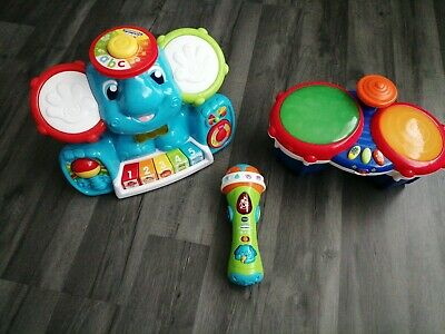 Bundle Of Musical Toys - Vtech - Singing, Drums - Learning - Children's Kid's