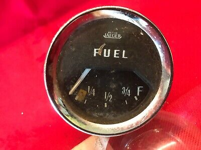 Original Jaeger 2 Inch Classic Car Fuel Gauge Tested and Working.