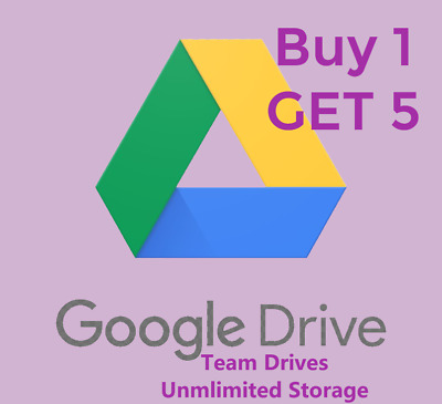 5 UNLIMITED Google Team Drives for existing Account✔️Lifetime🔥 Fast delivery 🚚