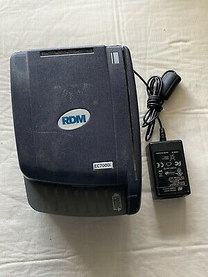 RDM EC7000i CHECK SCANNER with power cord
