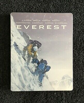 Everest 3d & 2d Blu ray steelbook