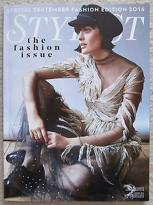 Special Edition Fashion Issue 2016 – Stylist Magazine -14 September 2016