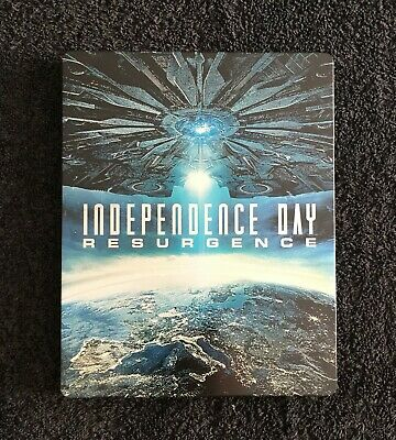 Independence Day: Resurgence 3d & 2d Blu ray steelbook