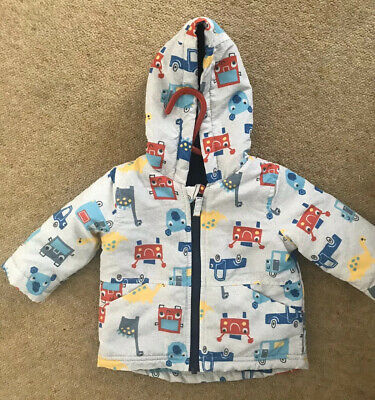 Baby Boy Girl Winter Coat 0-3 Months Nutmeg Washed But Not Worn