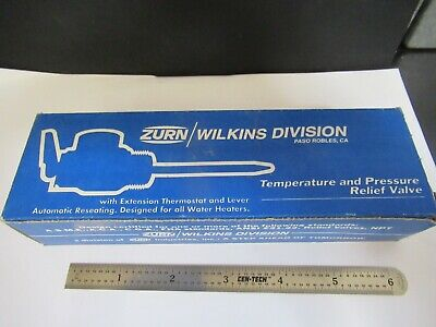 Zurn Wilkins Division Temperature Pressure Relief Valve As Pictured &W2-B-08