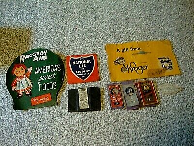 Lot of 1920-1940's Sewing Needle Books