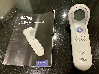 Braun No Touch + Forehead Thermometer NTF3000