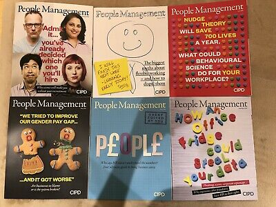 CIPD People Management HR Professional Monthly Journal Magazine X6 Feb-Aug 2019