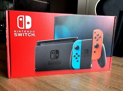 Nintendo Switch Neon Red and Neon Blue Joy-Con Console 32GB