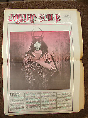 Music Rolling Stone Newspaper 43 / October 1969
