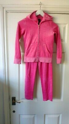 Juicy Couture Kids Track Suit in Pink Size 8 *VGC*