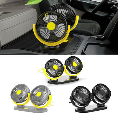 Portable Fan 1pc Auto Car Universal 12V / 24V Small Electric Practical