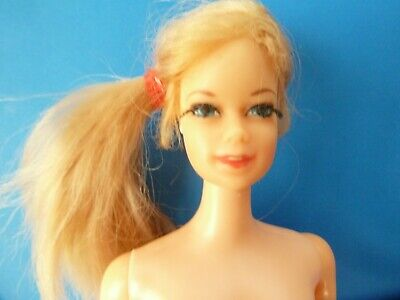 Vintage Nude Blonde Stacey Twist 'N Turn Doll From 1960'S