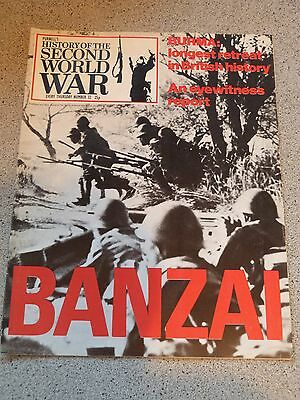 Purnell's History of the Second World War 32 BANZAI