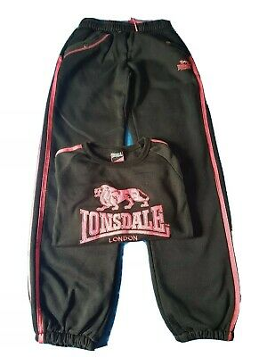 Lonsdale Tracksuit and top 9-10 Years Old