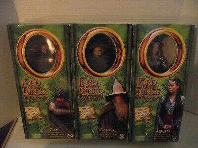 Toy Biz The Lord Of The Rings Special Edition Series 12'' Lot (6) New In Package