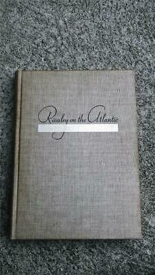 1939 RIVALRY on the ATLANTIC BOOK by CMDR W MACK ANGAS ~CUNARD WHITE STAR LINE +