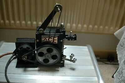 Vintage Pathescope Ace 9.5mm Cine Projector +  camera +Spools Films