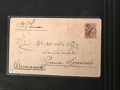 Stamps - Argentina Envelope Untidy Pre Paid As Shown