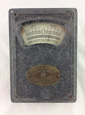 Rare Antique C1920's PALMERS Chiropractic Neurocalometer USA Medical Instrument