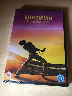 Bohemian Rhapsody DVD - Brand new & Sealed (Freddie Mercury) - QUEEN