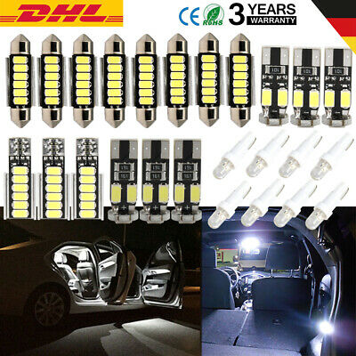 25X Canbus Für VW T5 Multivan Caravelle ab 2003 SMD LED Innenraumbeleuchtung Set