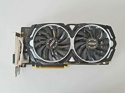 Scheda Video MSI NVIDIA GEFORCE GTX 1060 - ARMOR OC Edition 6 GB - Come nuova