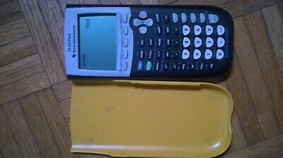 TI-84 Plus Graphing Calculator Texas Instruments USED