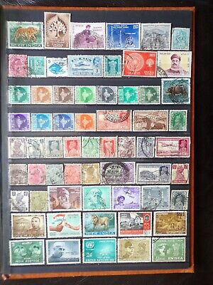 Collection Of India Indian Stamps (1)