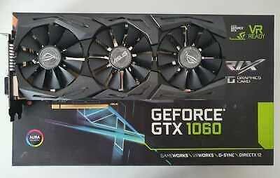 Scheda Video ASUS STRIX NVIDIA GEFORCE GTX 1060 6GB GAMING - Come nuova