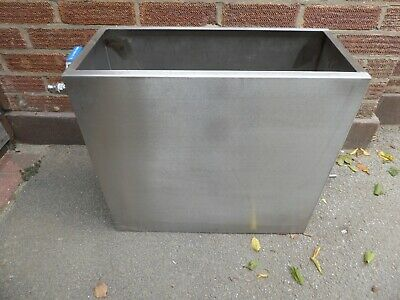 feed and expansion tank  stainless steel  high temperature ideal for woodburner