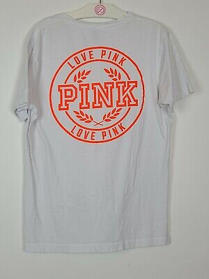 Victoria secret pink Small Oversized T-shirt Huge Neon Graphics