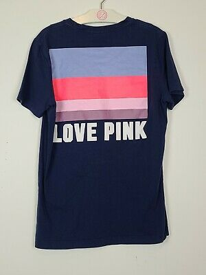 Victoria secret pink Xs Oversized T-shirt Awesome Graphics!!!