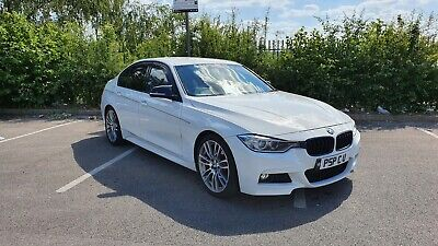 BMW 320d M Sport Auto Red leathers