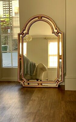 Antique Gilt Frame Over-Mantle Style Mirror