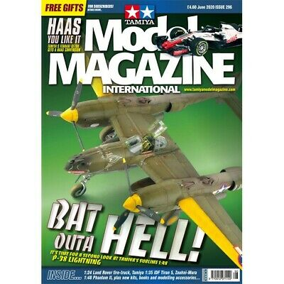 Tamiya Model Magazine International issue 296 June 2020 Hobby Magazine