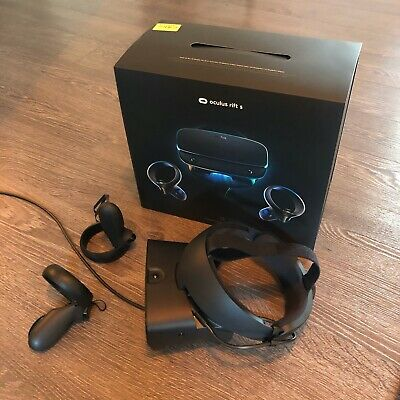 Oculus Rift S VR Headset, with headset and dual controllers