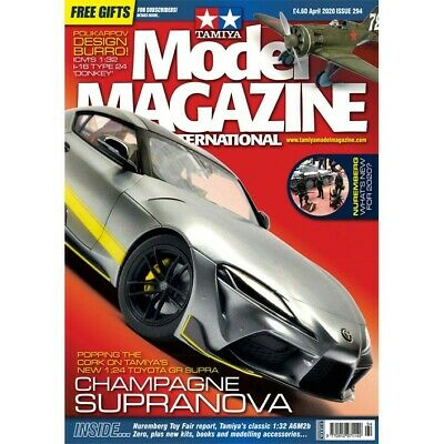 Tamiya Model Magazine International issue 294 April 2020 Hobby Magazine