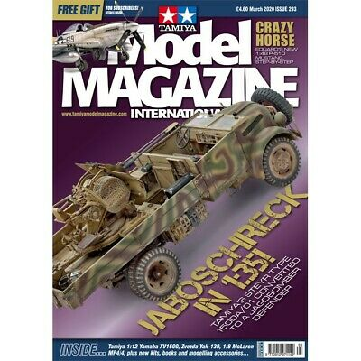 Tamiya Model Magazine International issue 293 March 2020 Hobby Magazine
