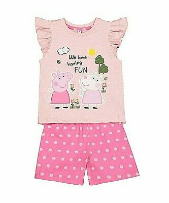 New Mothercare 18-24 Months Peppa Pig Short Pyjama New With Tag Fast Dispatch