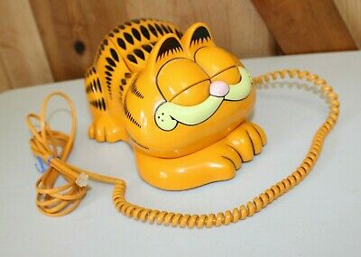 Garfield ~ Vintage Tyco Phone ~ Open and Close Eyes