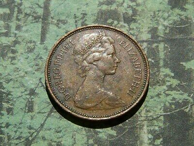 1971 2p coin, incredibly common virtually worthless coin in circulated condition